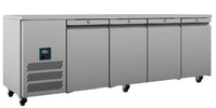 Four door prep fridge for sale (B Grade)