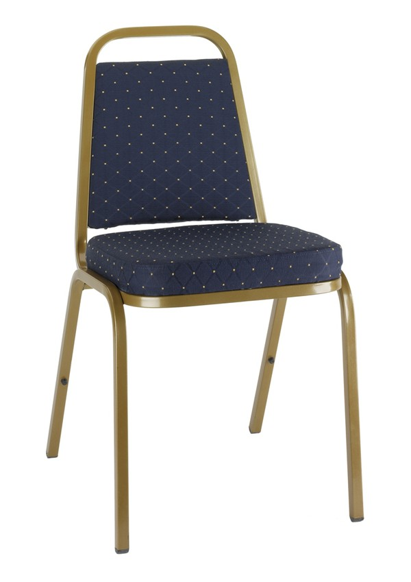 Brand New Blue Banqueting Stacking Chairs