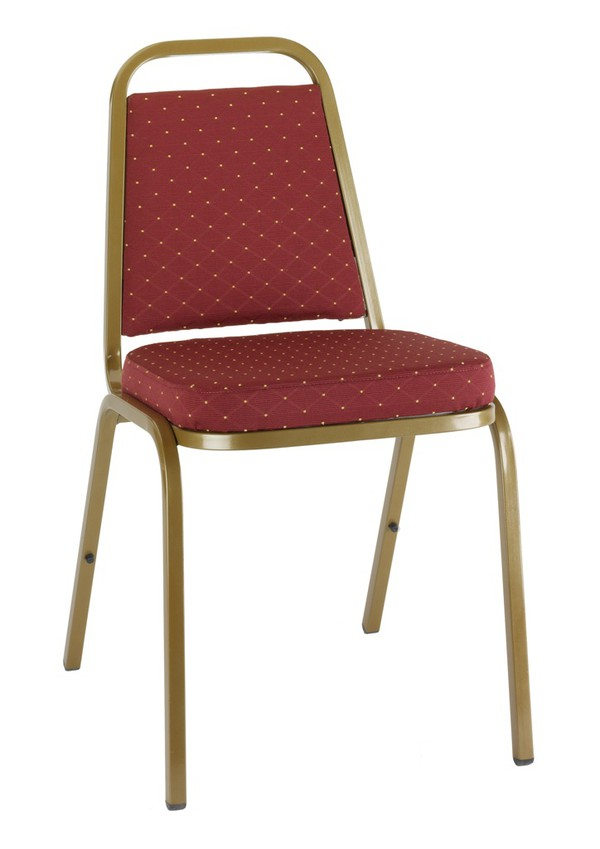 Brand New Red Banqueting Stacking Chairs