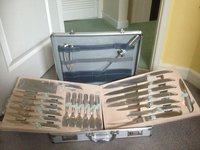 24 Piece Berghaus Kitchen Knives