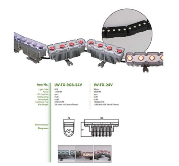 Tri LED LW-FX-rgb-24v wash lights