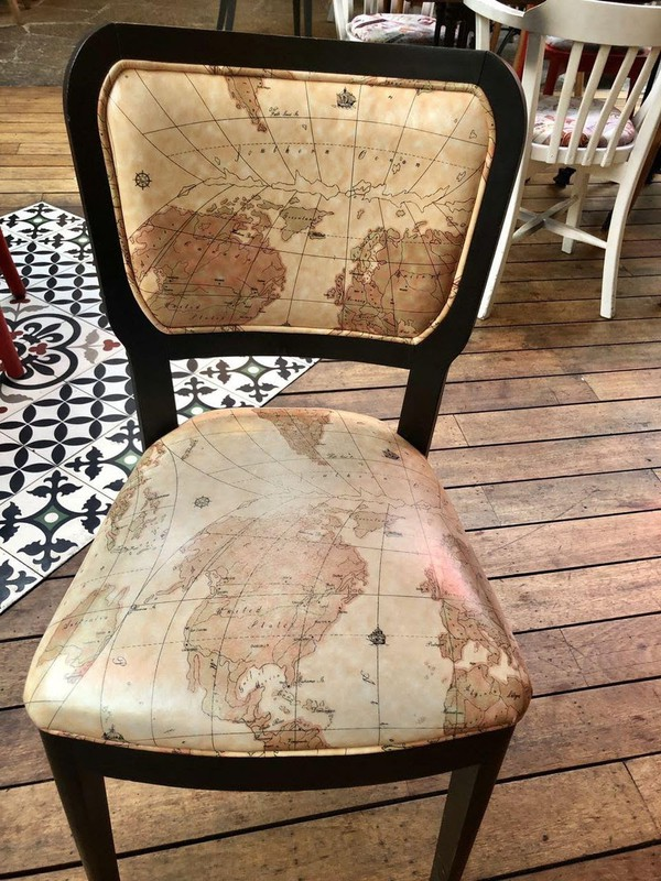 Map chairs for sale