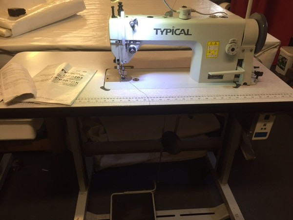 Secondhand sewing machine