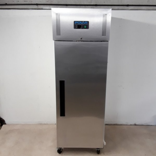 Used Polar G593 Stainless Upright Single Freezer (8422)