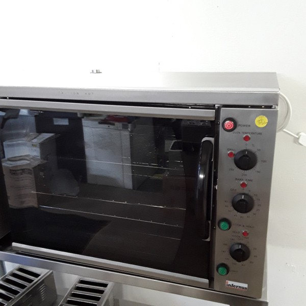 Ex Demonstration  Infernus 108 Convection Oven (8423)