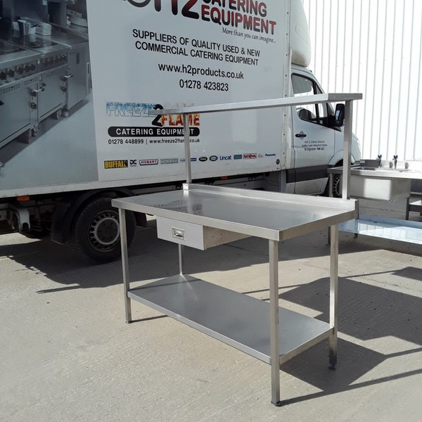 Stainless Steel Table. Shelf