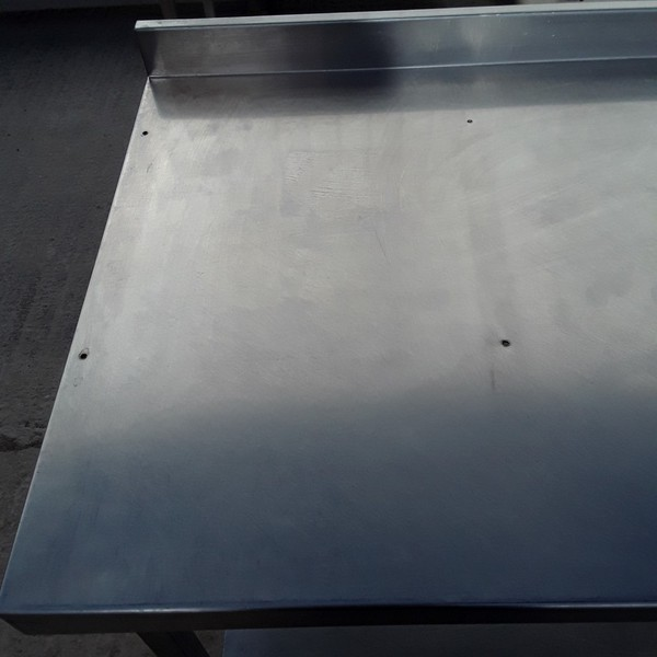 stainless steel table  150cm