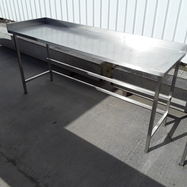2000mm stainless steel table