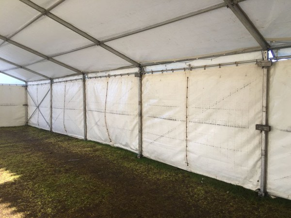 Show stall marquee