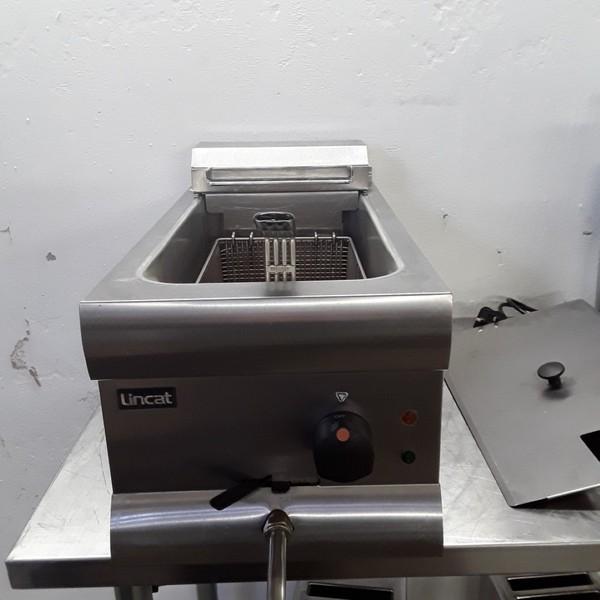 Single tank counter top electric fryer