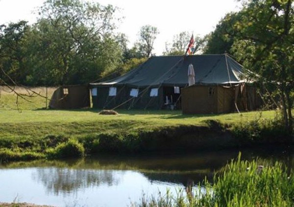 Green army marquees for sale