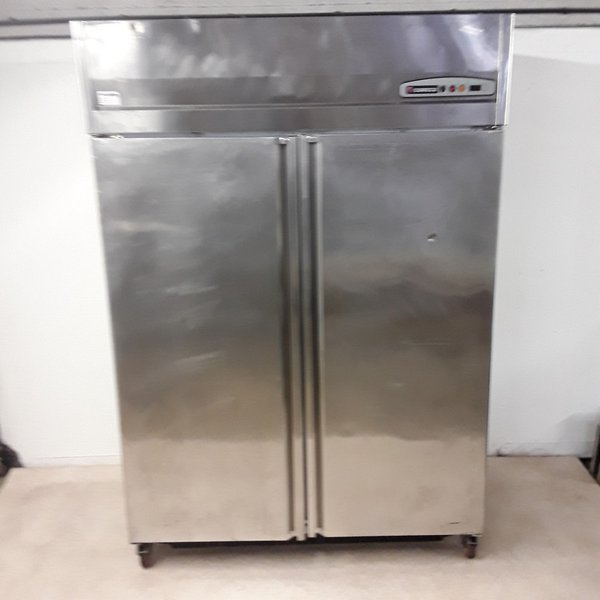 Upright double fridge