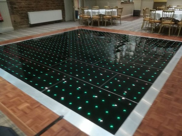 Grumpy Joe's Black 14 x14 RGB Pro Dancefloor