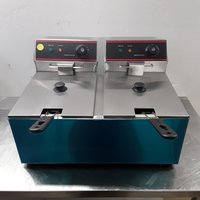 New B Grade  EF-8L-2 Double Table Top Fryer 8L (8441)