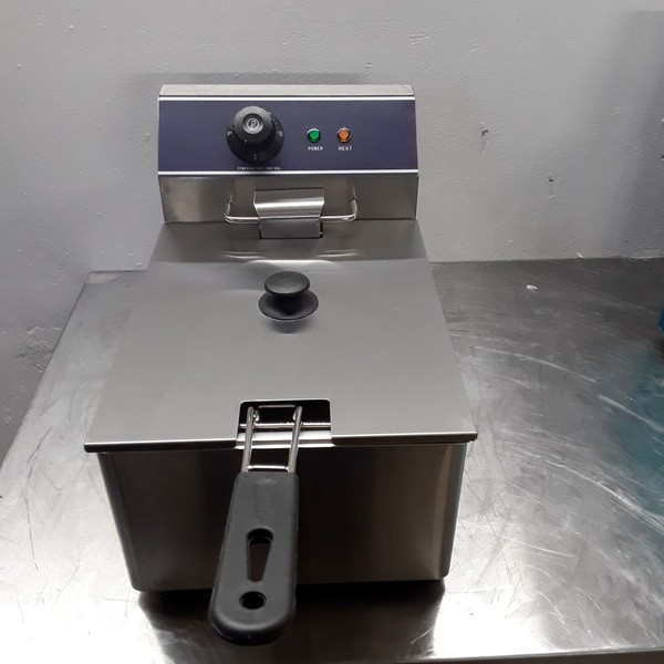 New B Grade  KY-6L Single Table Top Fryer 6 L (8440)