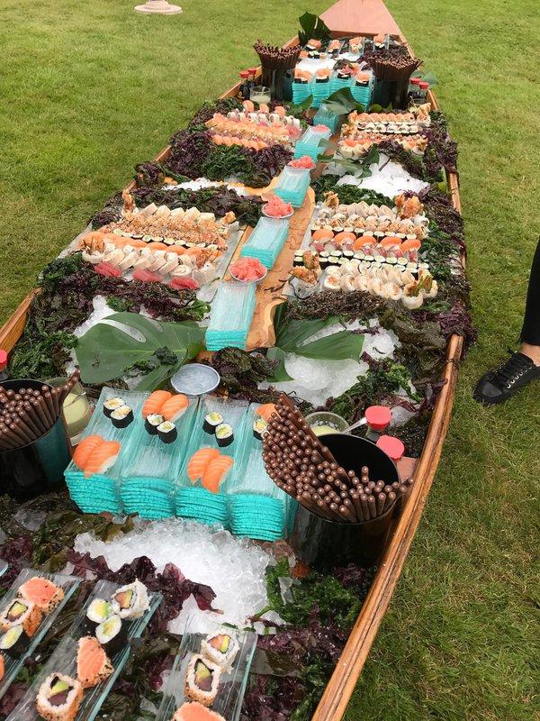 Boat buffet