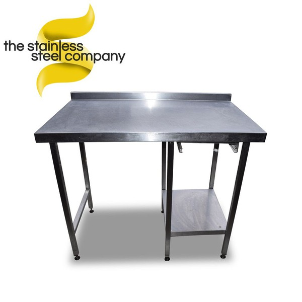1.1m Stainless Steel Table (SS600) - Cheshire