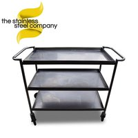 1.18m Stainless Steel Trolley (SS601) - Cheshire
