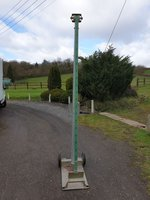 Marquee / Tent lifting Jack made by Crockers