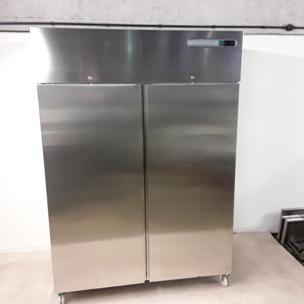 Sterling Pro Stainless Steel Double Upright Fridge