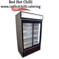 Tefcold Double Display Fridge 895L