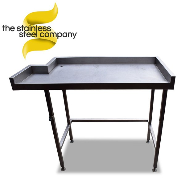 1.24m Stainless Steel Table
