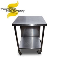 0.6m Stainless Steel Table