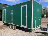 Second Hand 3+1 luxury toilet trailer