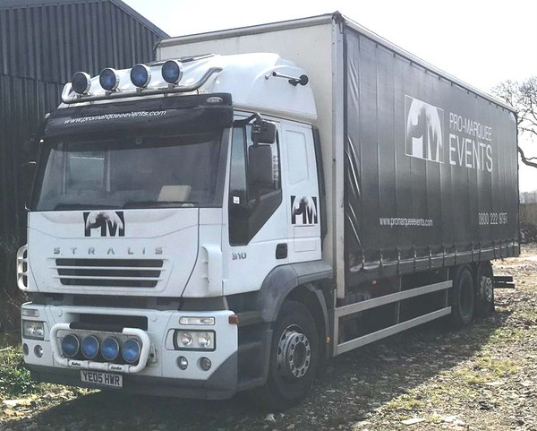 Iveco euro cargo 26ton with three way moffet