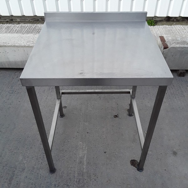 Used Stainless Steel Table (8472)
