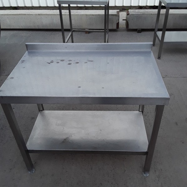 Used Stainless Steel Table (8473)