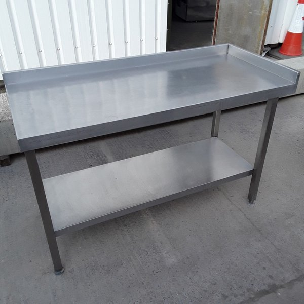 Used Stainless Steel Table (8475)