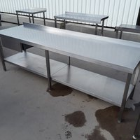 Used  Stainless Steel Table (8476)