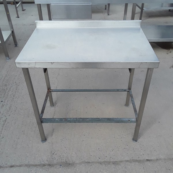 Used Stainless Steel Table (8477)