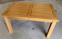 Wood restaurant table