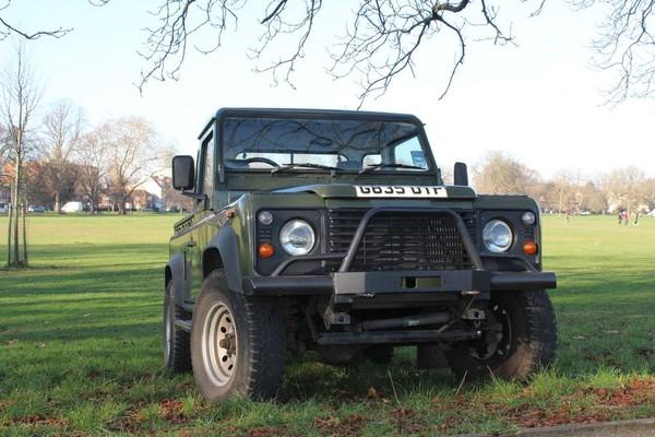 Landrover Defender 90 Pickup