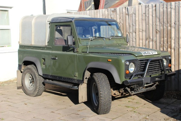 Secondhand landrover