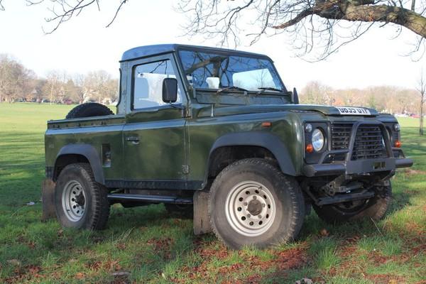 Used Landrover Defender 90 Pickup