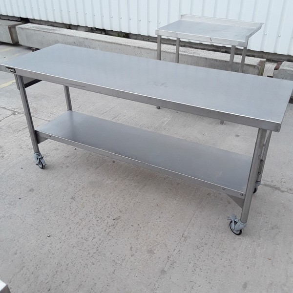 Used Bartlett  Stainless Steel Table (8489)