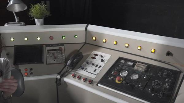 Mission Control Desk Theatre Prop