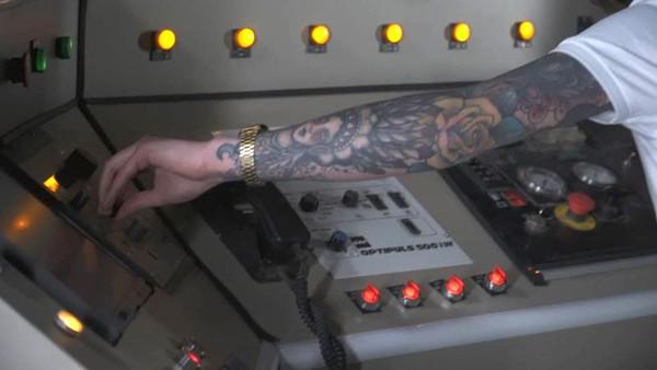Mission Control Desk Video Prop