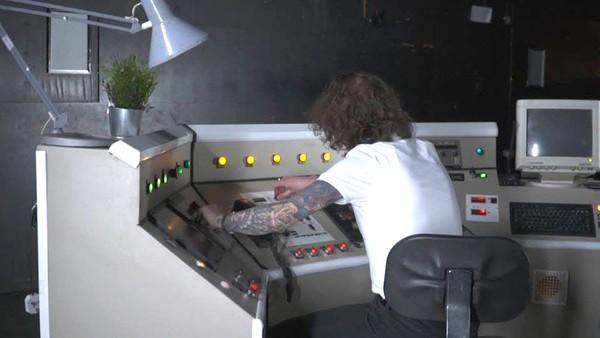 Retro Mission Control Desk Prop