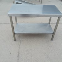 Used   Stainless Steel Table 115cm
