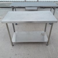 Stainless steel table 1200mm