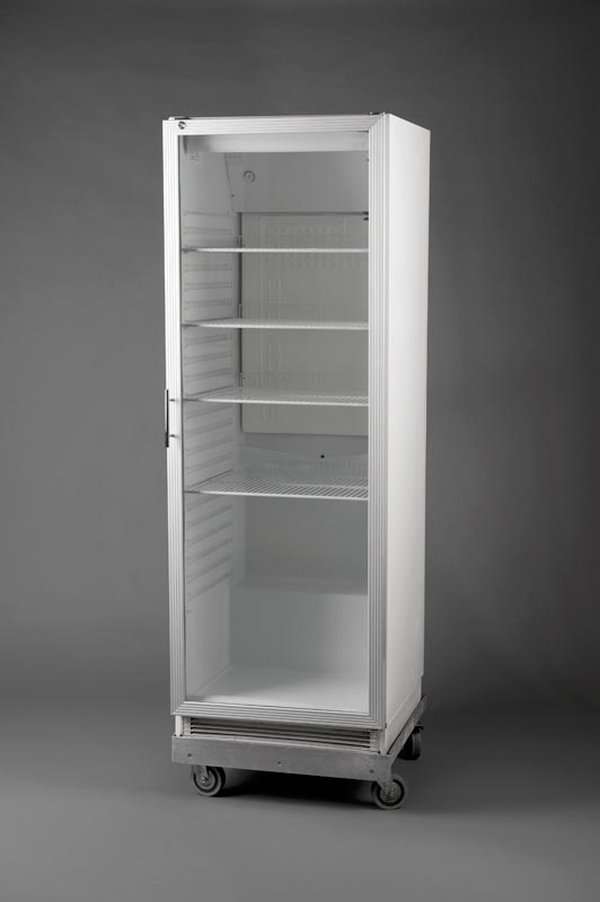 Glass Fronted Upright Display Fridge