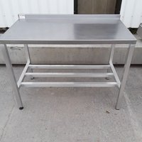 Used Stainless Steel Table (8506)