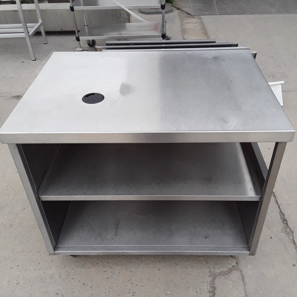 Buy Used Stainless Steel Table Cabinet (8505)