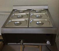 Six pot bain marie for sale