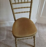 Chiavari gold chairs for sale