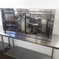 Used   Stainless Steel Double Wall Cabinet (8513)